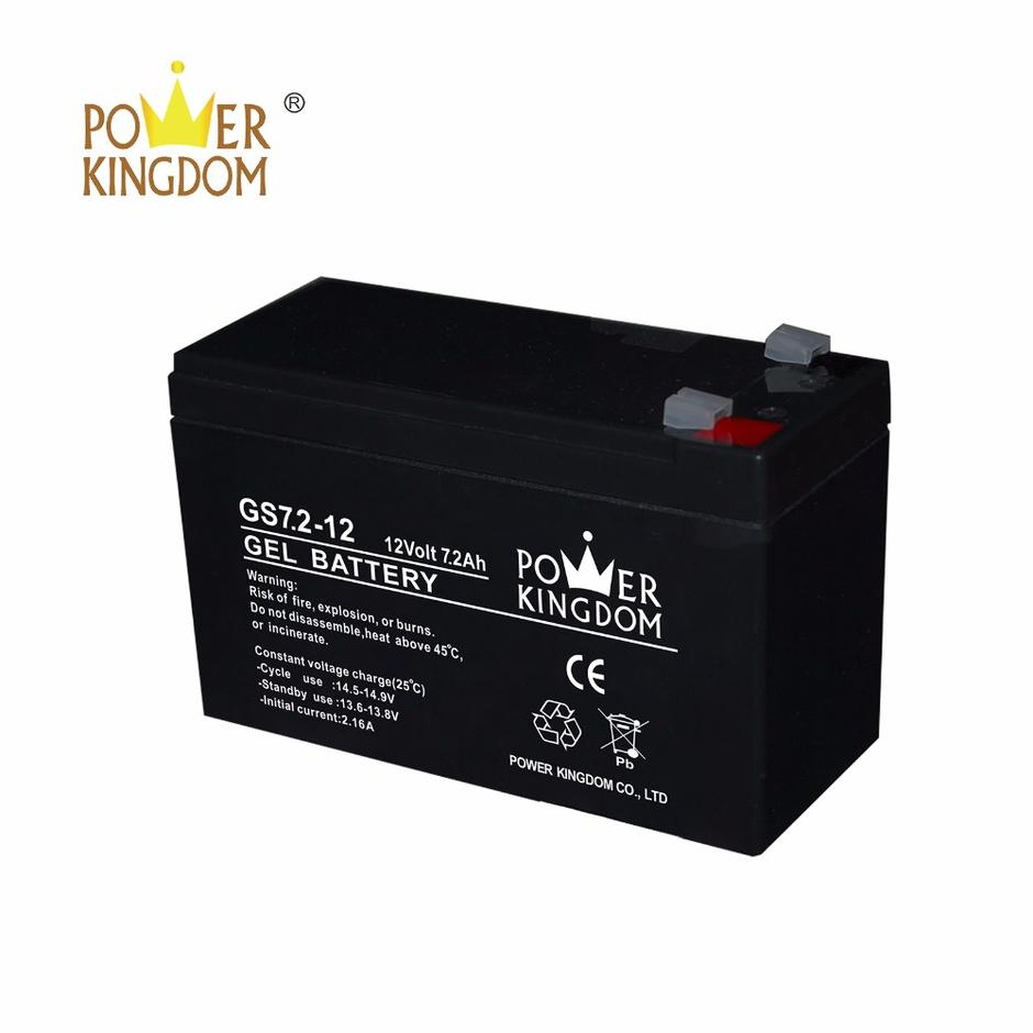 UPS GEL Battery 12v 7.2ah power supply cctv camera battery