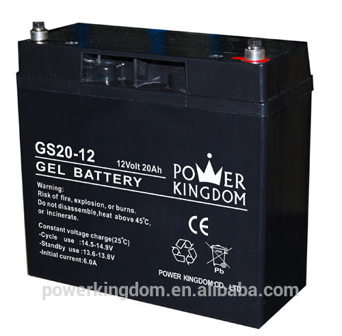 12V 20ah solar GEL battery and Deep cycle Battery