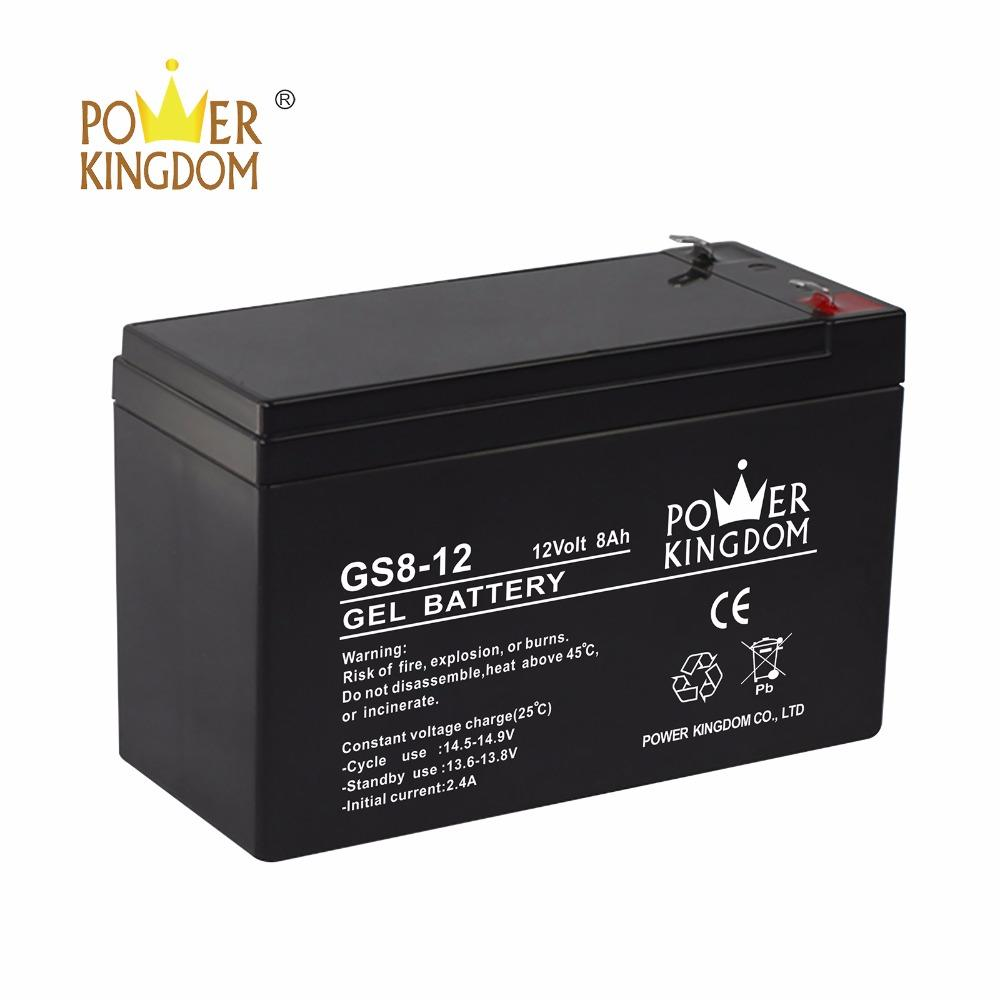 12V 8ah solar GEL battery small ups battery