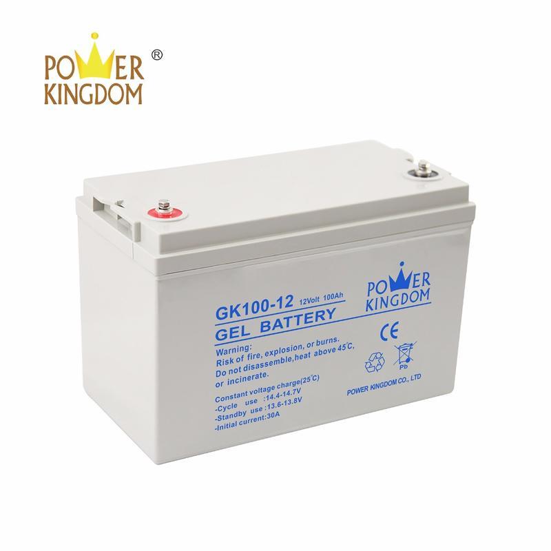 12V 100Ah GEL Batteries for solar power off grid system