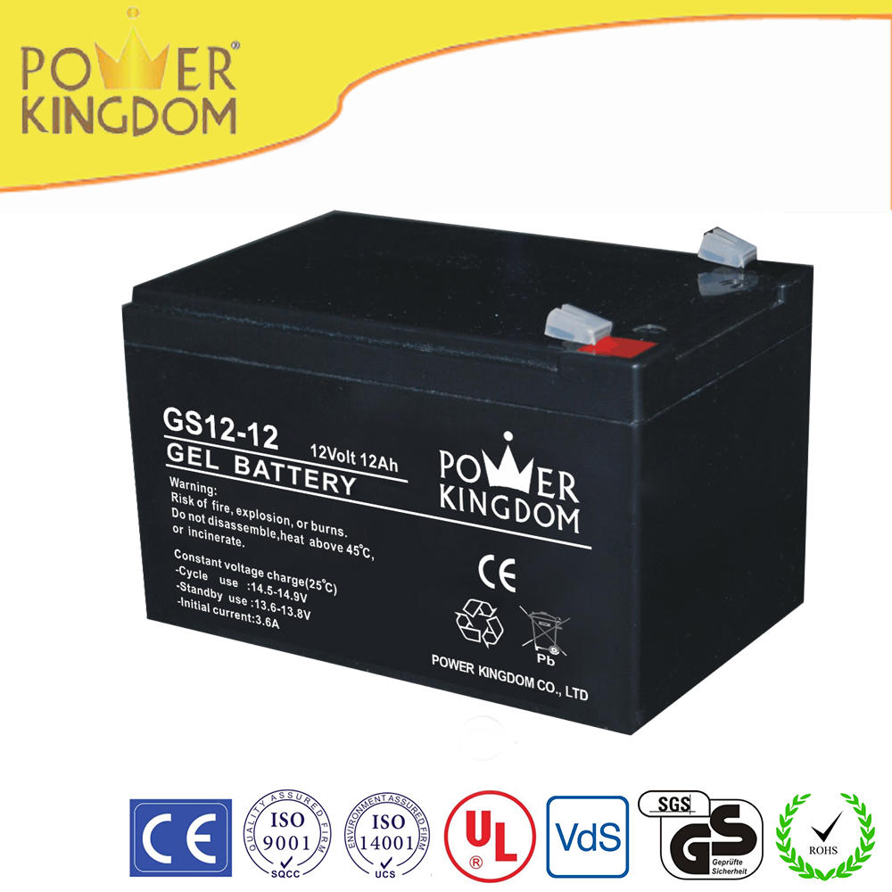 POWER KINGDOM 12v 12ah 20hr rechargeable UPS battery with 12 months warranty