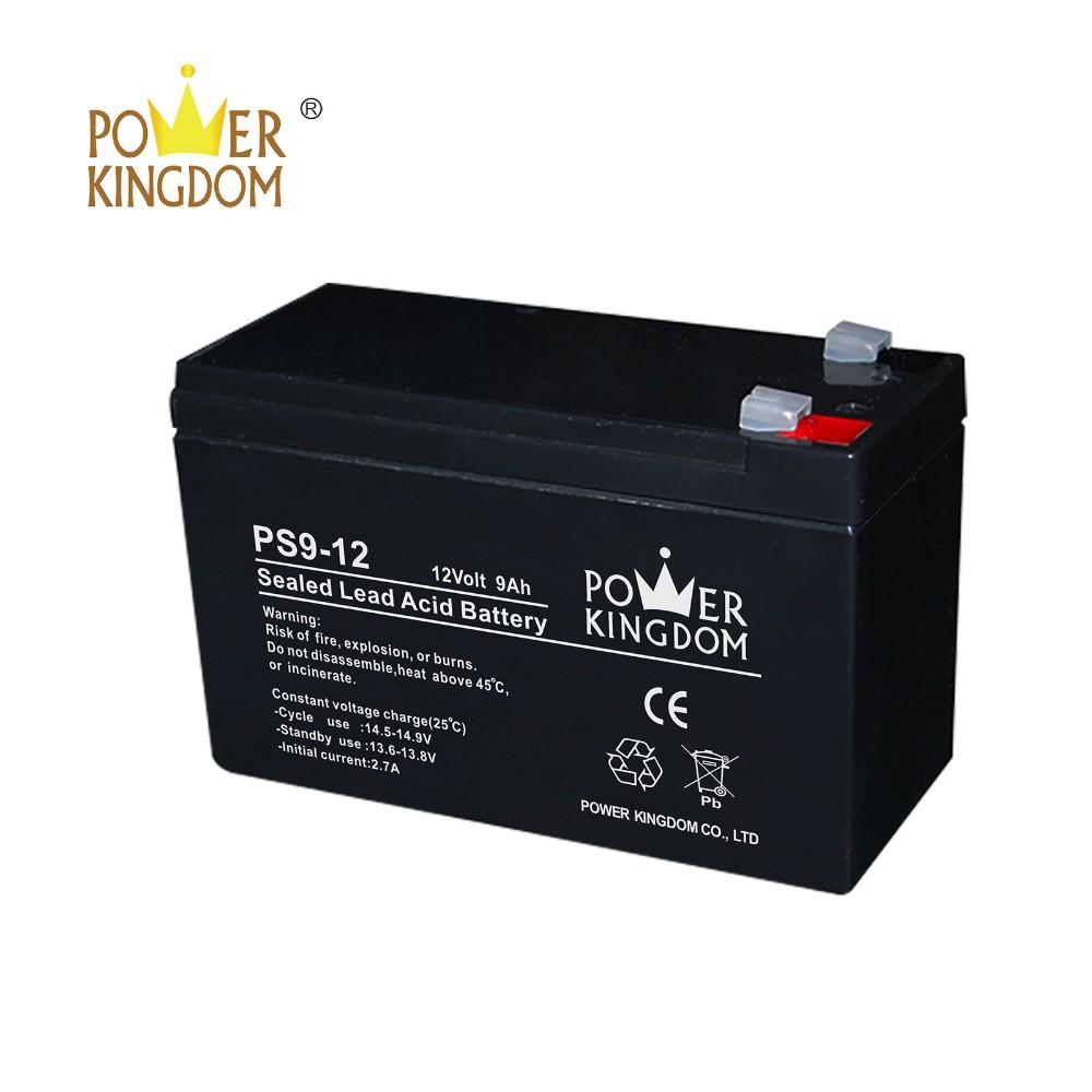 12 months warranty 12v 9ah ups battery alarm battery solar battery