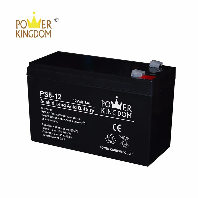 OEM 12v 8ah 20hr pure lead UPS battery with one year warranty
