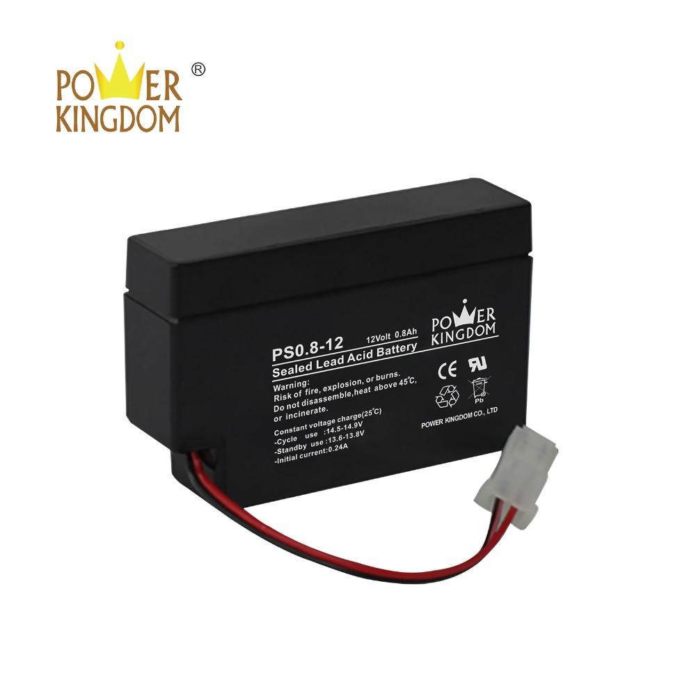 best selling 12V 0.8 sealed lead acid rechargeable battery for lighting