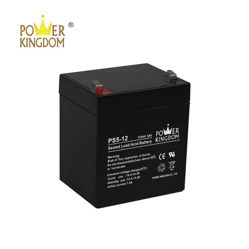 12V 5AH Sealed Lead Acid Battery 12 Volt 5 AH Home Security Alarm