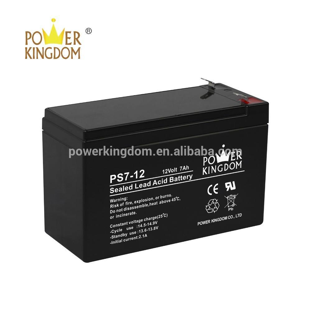 12 volt 7 amp batteries