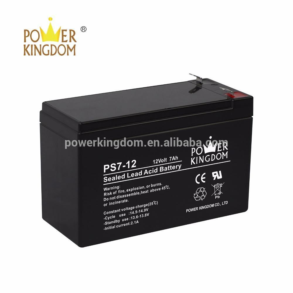 12v 7ah battery specifications