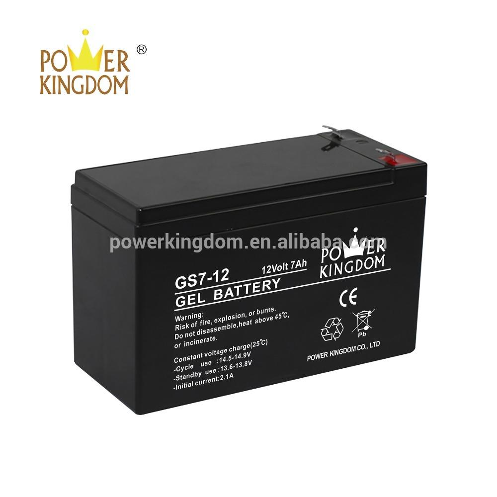 OEM cheap sealed lead acid battery maintenance free VRLA 12V7AH rechargeable security UPS battery