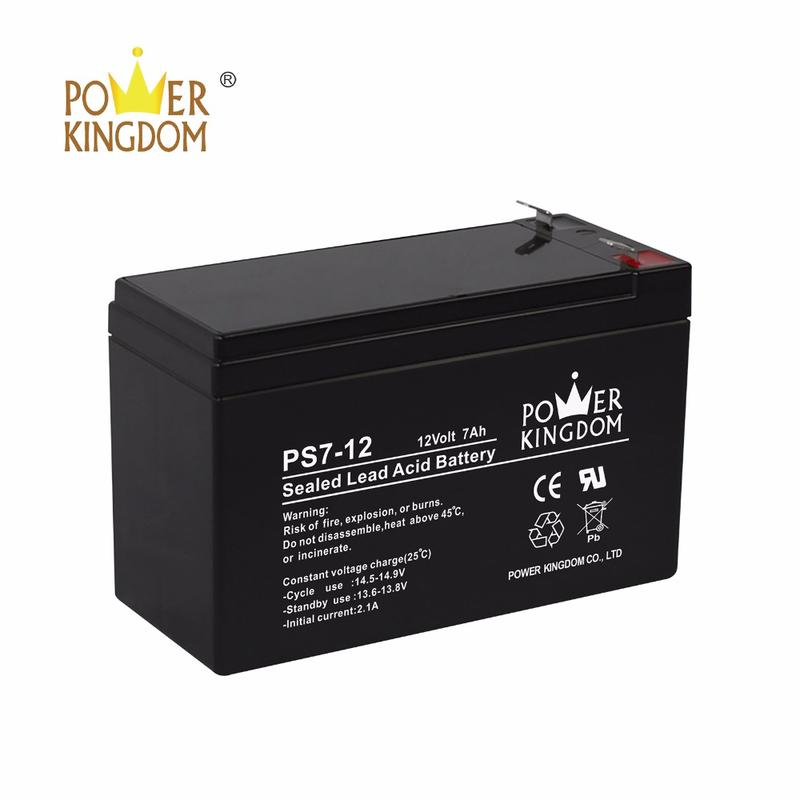 12 volt 7 Amp Sealed Lead Acid Battery for UPS and Alarm Systems