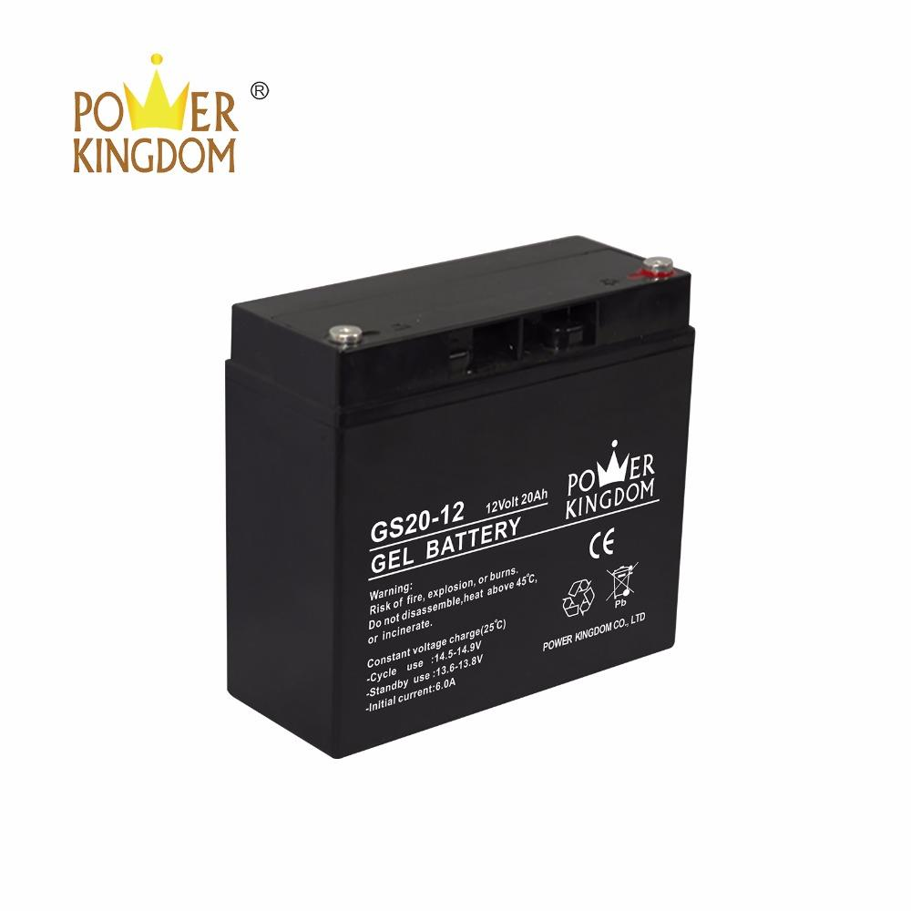 12V 20Ah Sealed Lead Acid Battery GS20-12