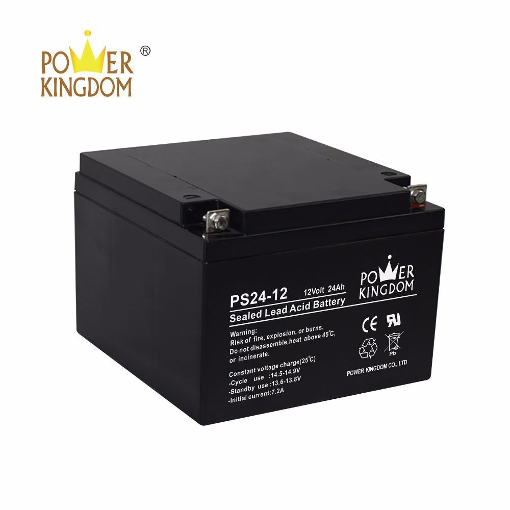 China Manufacture Agm Ups Battery 12v 24ah 25ah