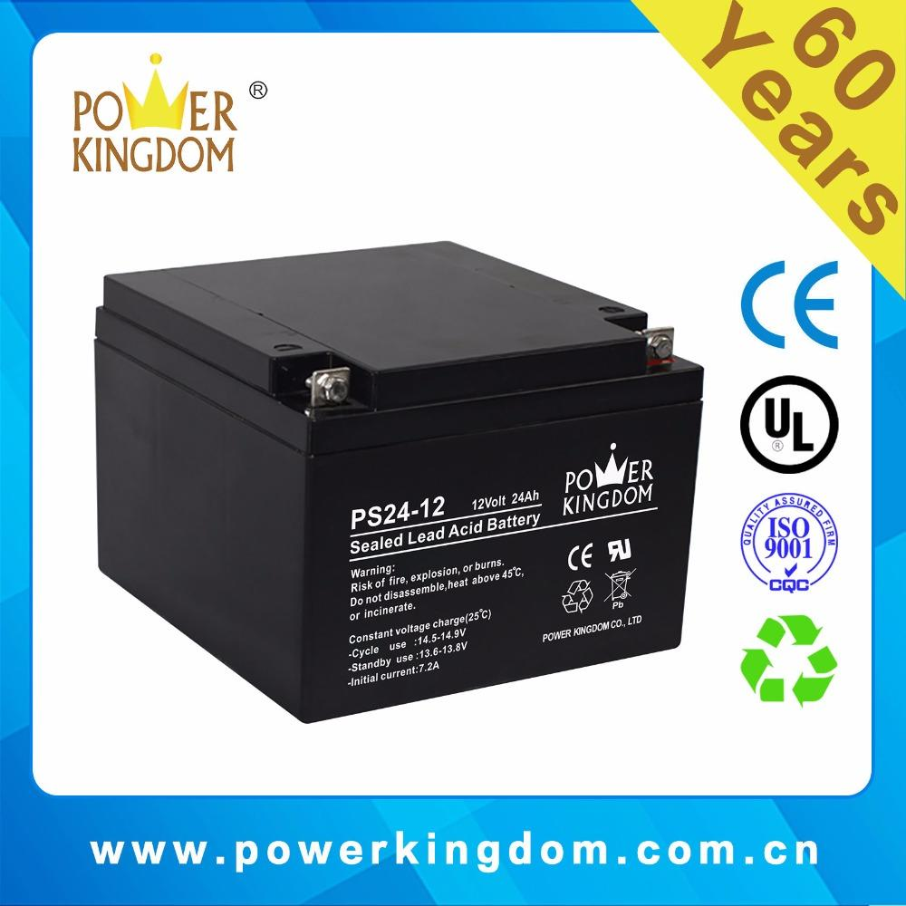 China Manufacture Agm Ups Battery 12v 24ah 25ah