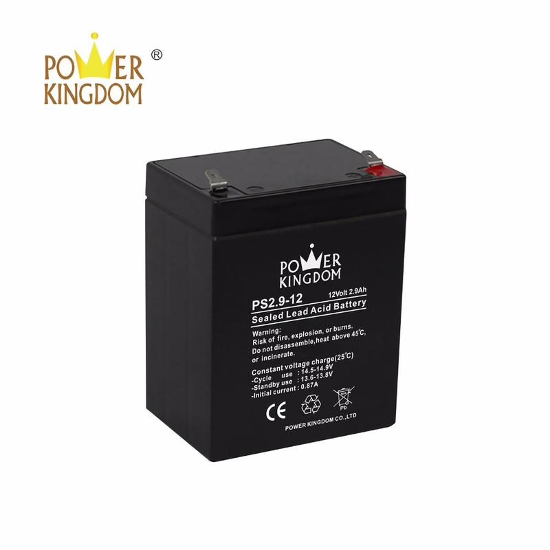 VRLA 12V2.9AH battery for UPS and security system lead acid battery