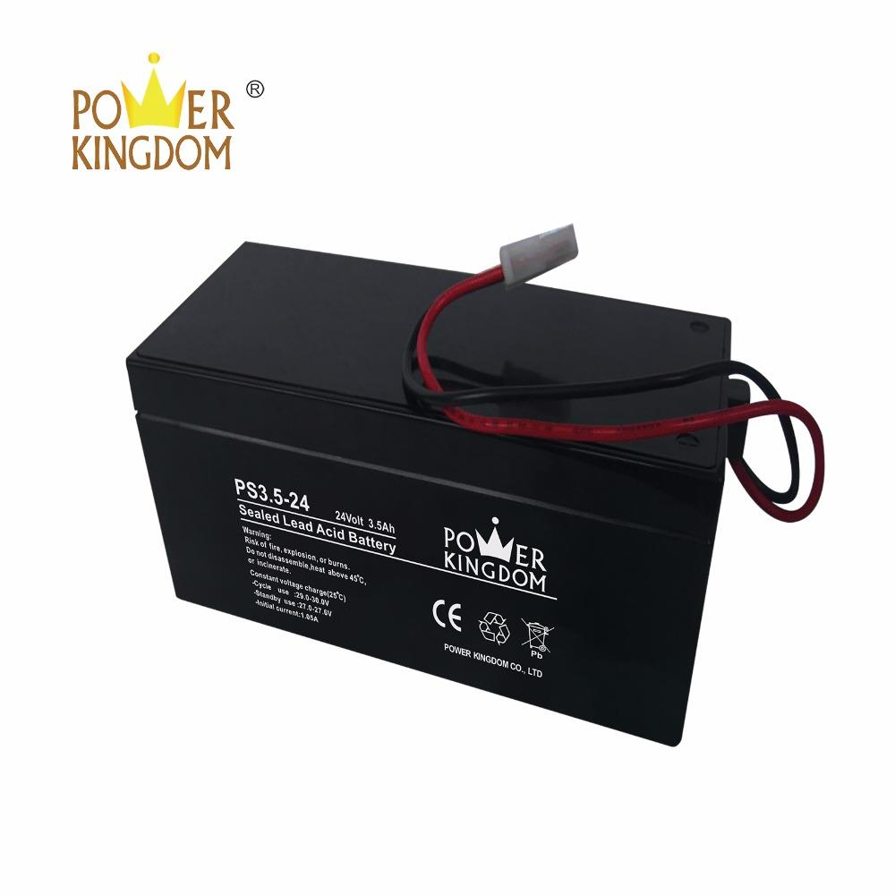 Maintenance free lead acid battery 24v 3.5ah battery for CCTV UPS Electric Toys