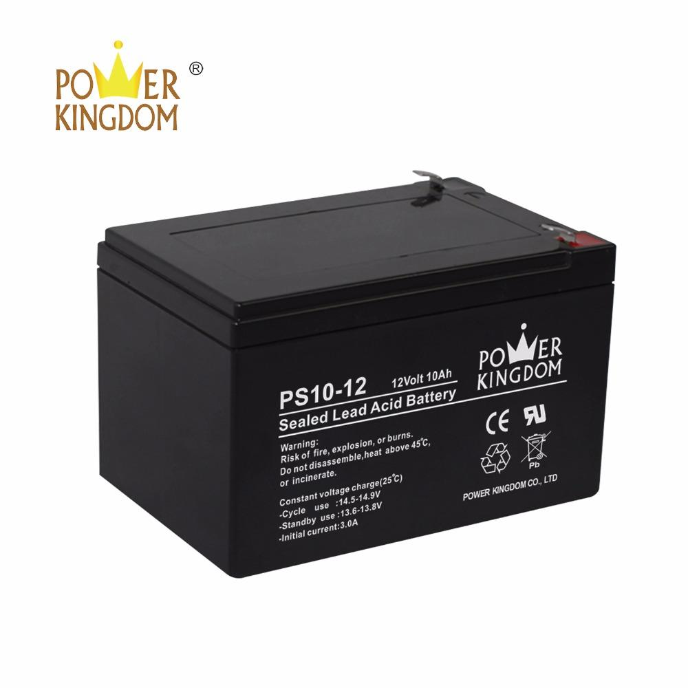 shenzen power kingdom 12v 10ah 12v lead acid battery for alarm system