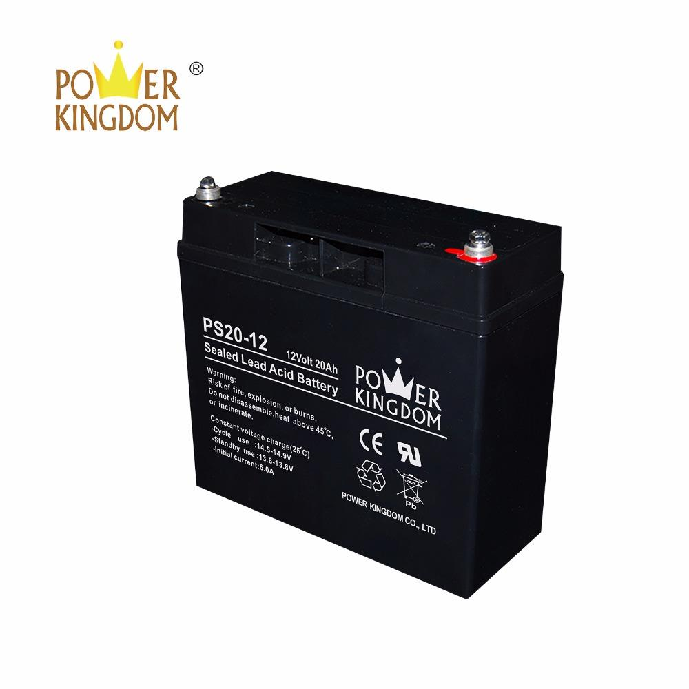 best selling 20hr battery 6-dzm-20 battery 12v 20ah