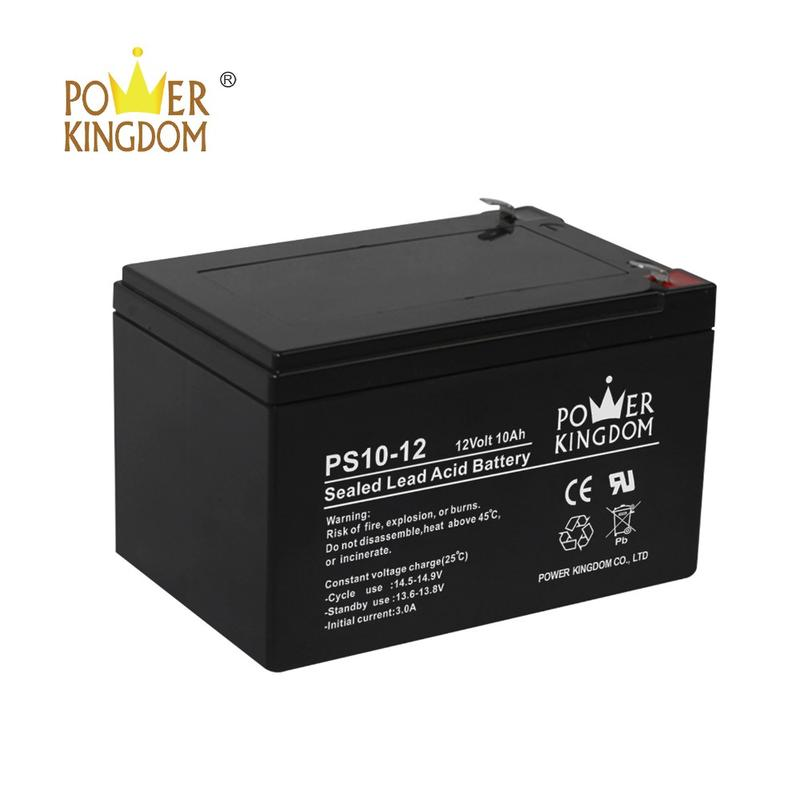 Free maintenance 6-dzm-10 battery 12V10AH uninterrupted power supply battery