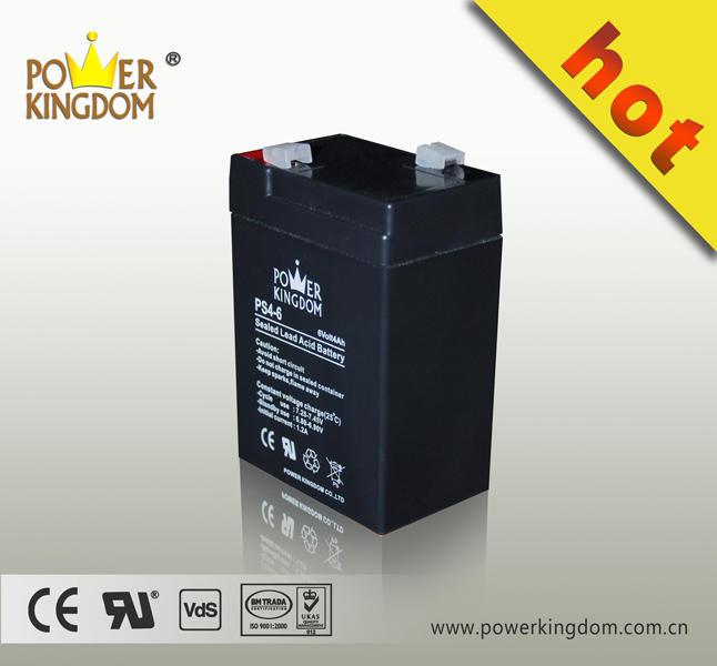 High capacity 6V 4Ah lead acid Battery for Children toy car