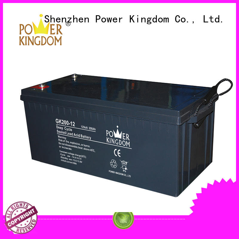long standby life rechargeable sealed lead acid battery with good price medical equipment