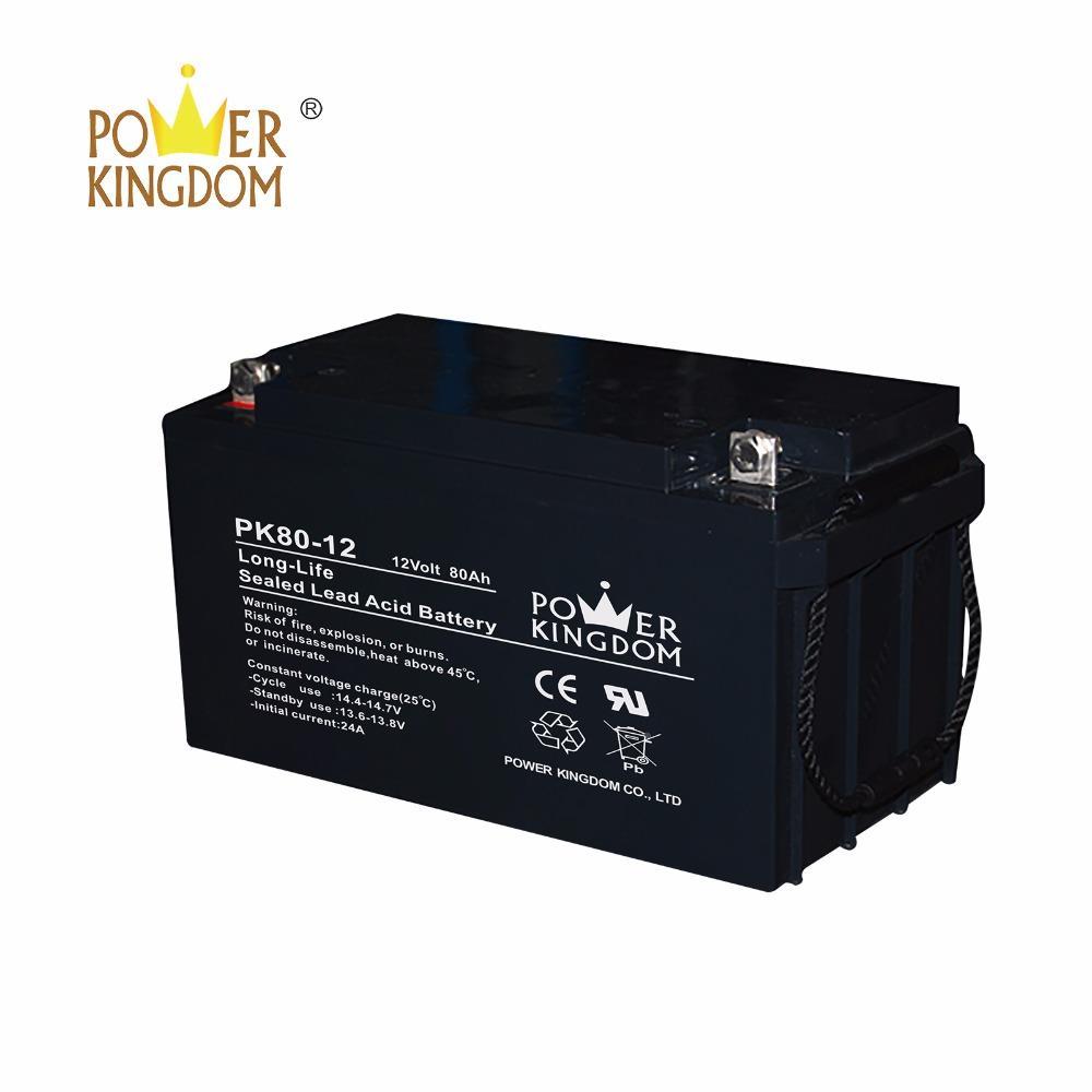 MF 12v 80ah lead acid AGM Battery UPS Battery