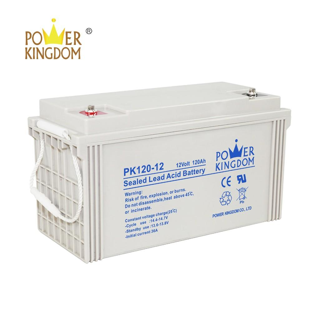 12v 120ah deep cycle gel vrla agm battery for UPS solar system