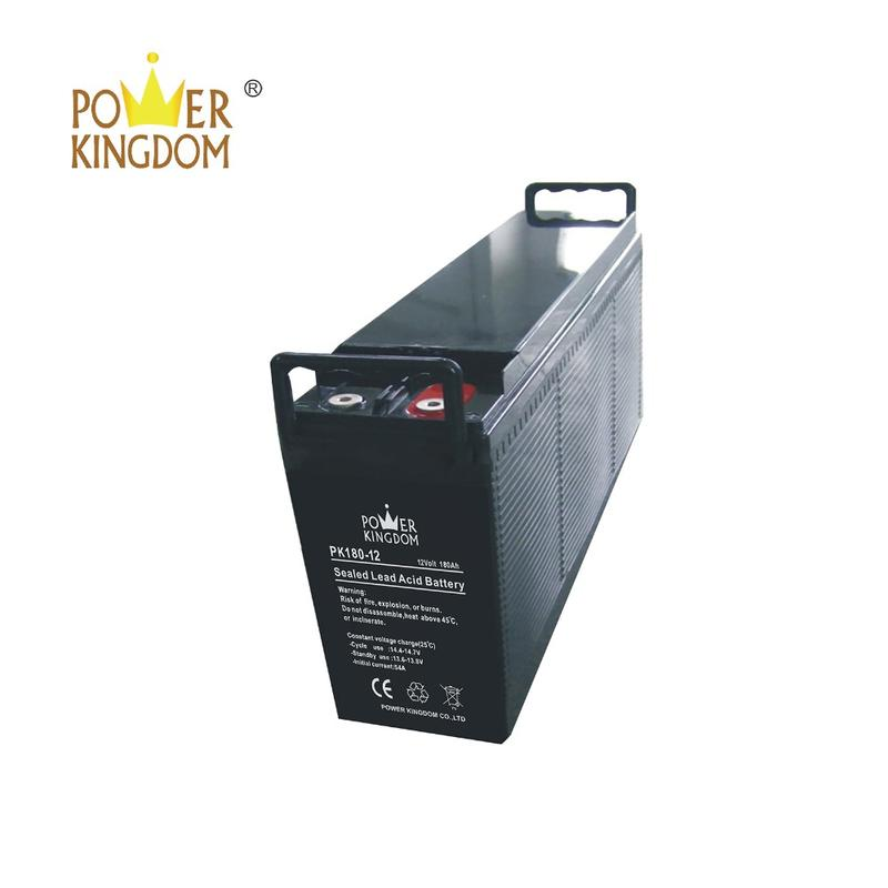 12V 180AH front terminal front access battery for telecom