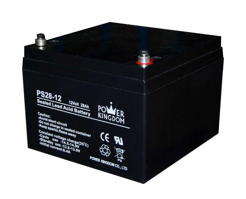 maintenance free long life Rechargeable sla battery 12V 26AH 12V 28AH 12V 33AH for UPS and Solar power / EPS/ Inverter