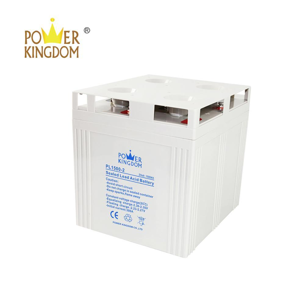Power Kingdom PL series solar long life battery 2 volt 1500ah