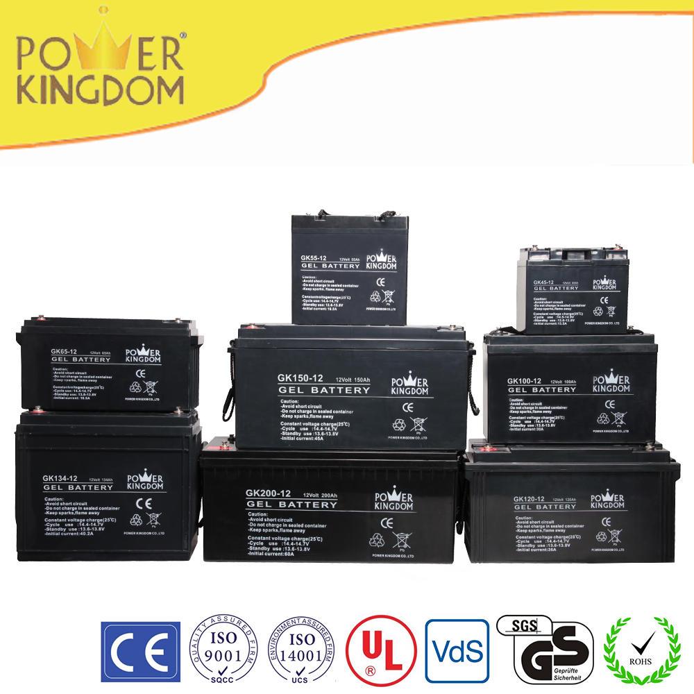 sealed lead acid battery 12v 90ah solar battery