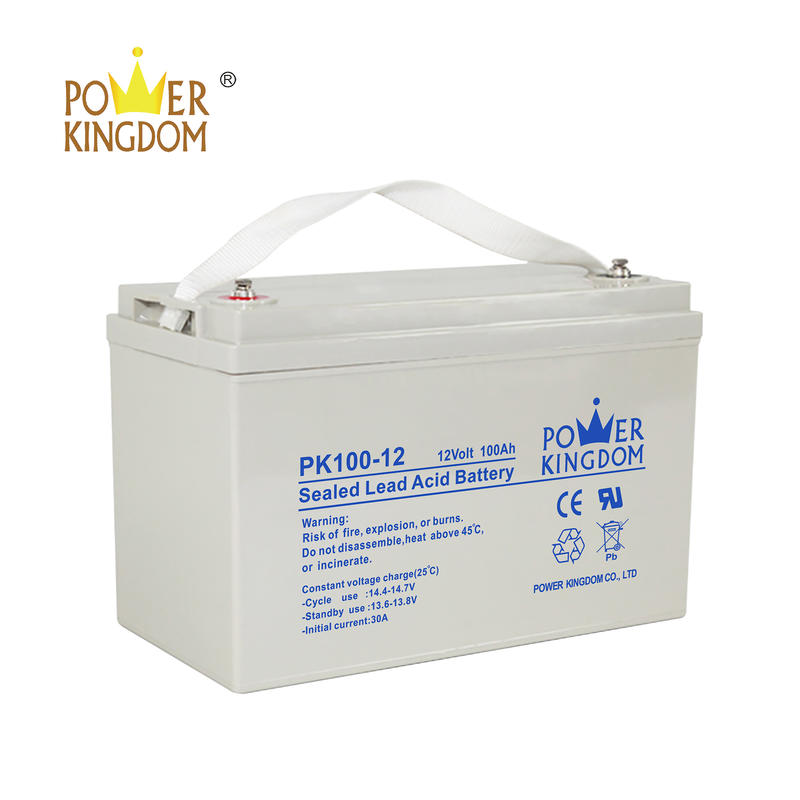 solar AGM battery 12v 100AH deep cycle lead acid battery with cheap price