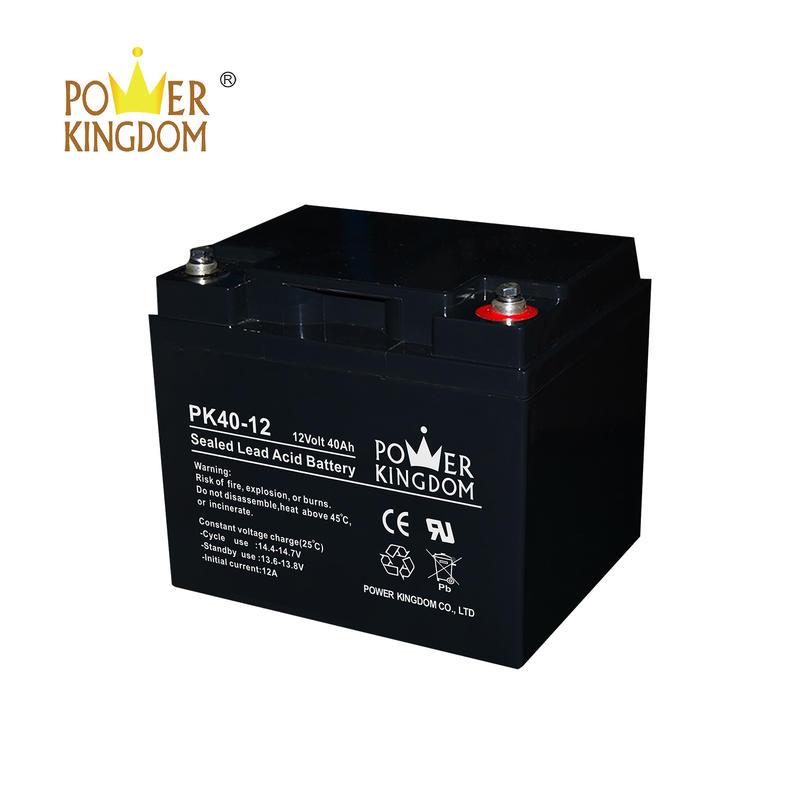 cheap price 12v 40ah agm battery sealed lead acid battery