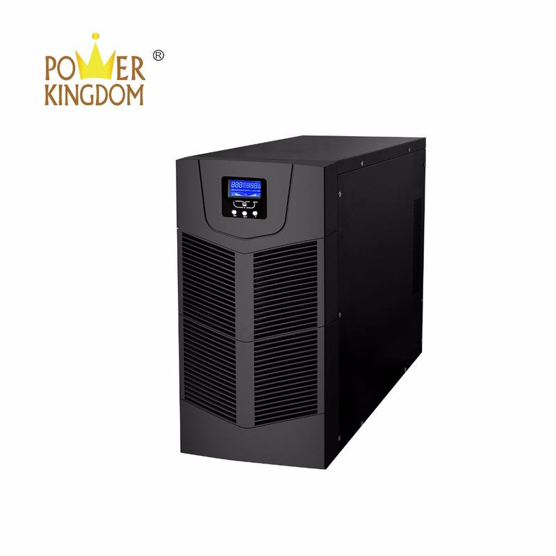 High efficiency on-line Uninterrupted Power Supply pure sine wave UPS 6000va 10000va