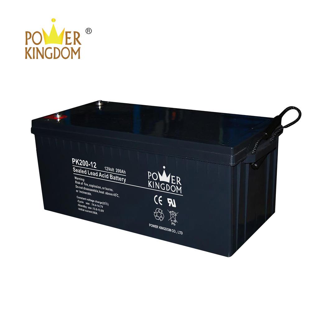 Newest model 12v 200ah solar battery sealed lead acid battery