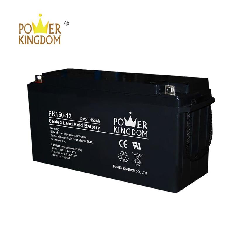 Hot products superior quality 12v 150ah street light solar battery