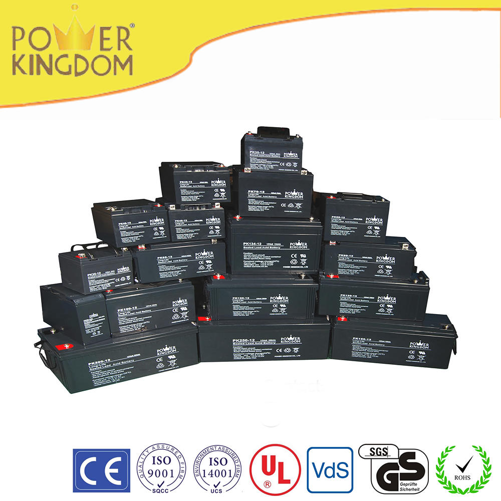 Sealed lead acid battery 12v 100ah for backup