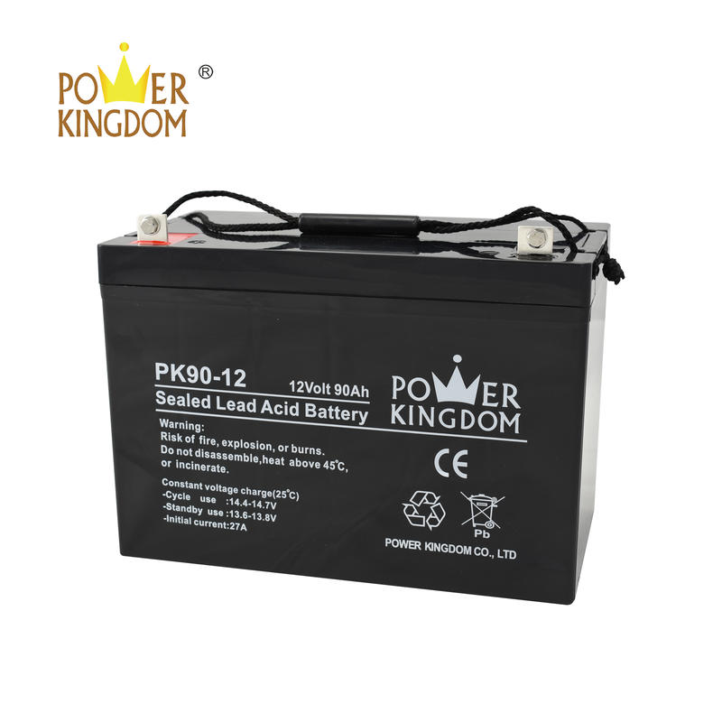 high quality VRLA battery 12v 90ah sealed lead acid battery