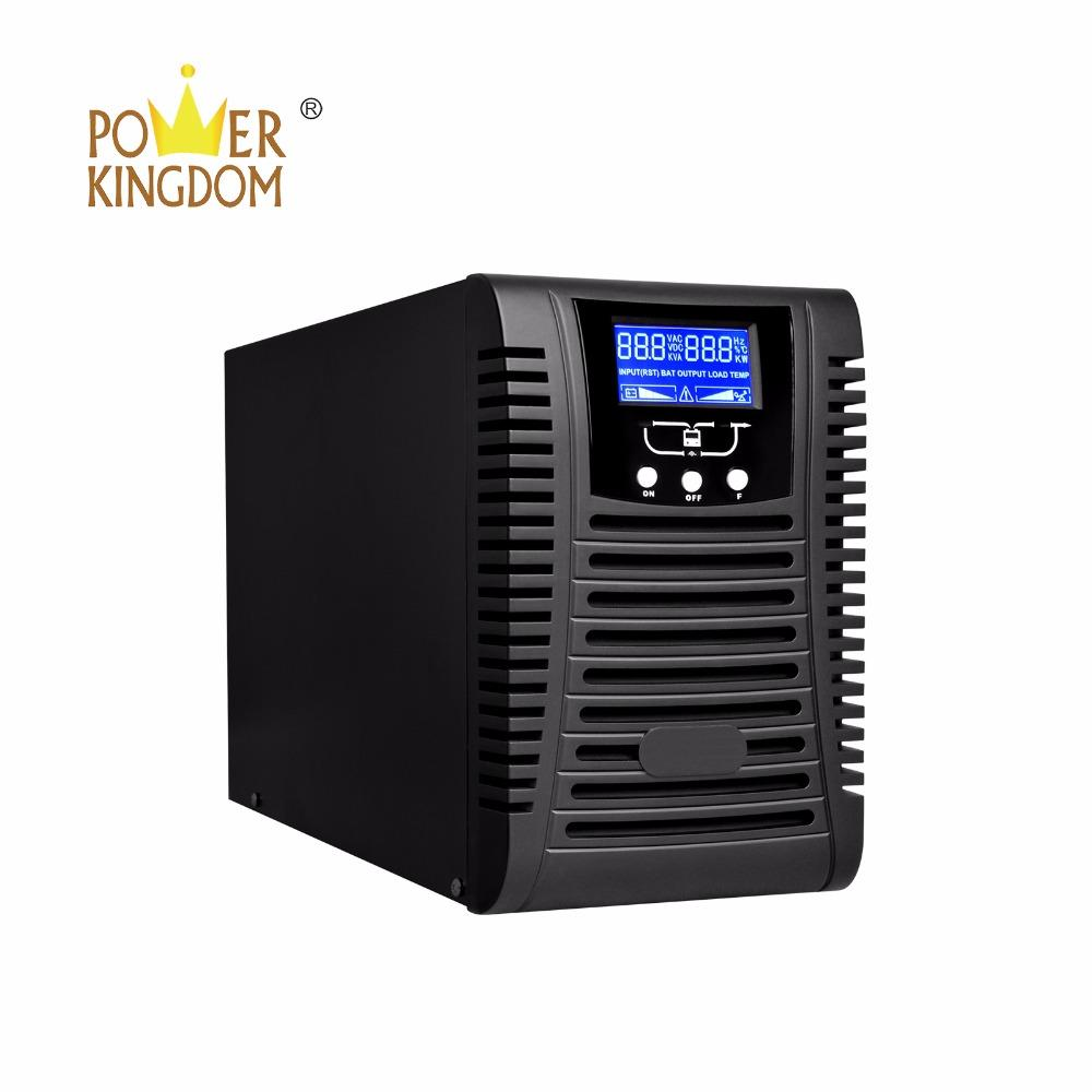 High efficiency on-line Uninterrupted Power Supply pure sine wave UPS 1000va 2000va 3000va