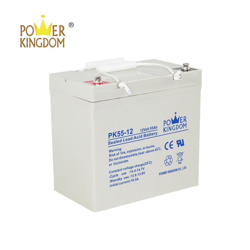 3 years warranty VRLA 12V 55AH UPS battery