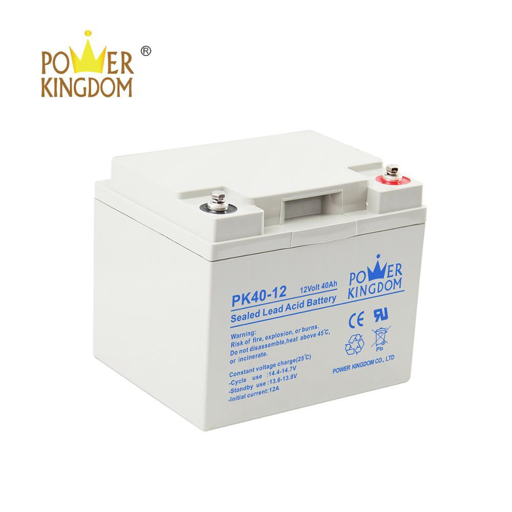 rechargeable SLA battery 12v 40ah AGM VRLA battery for large ups system