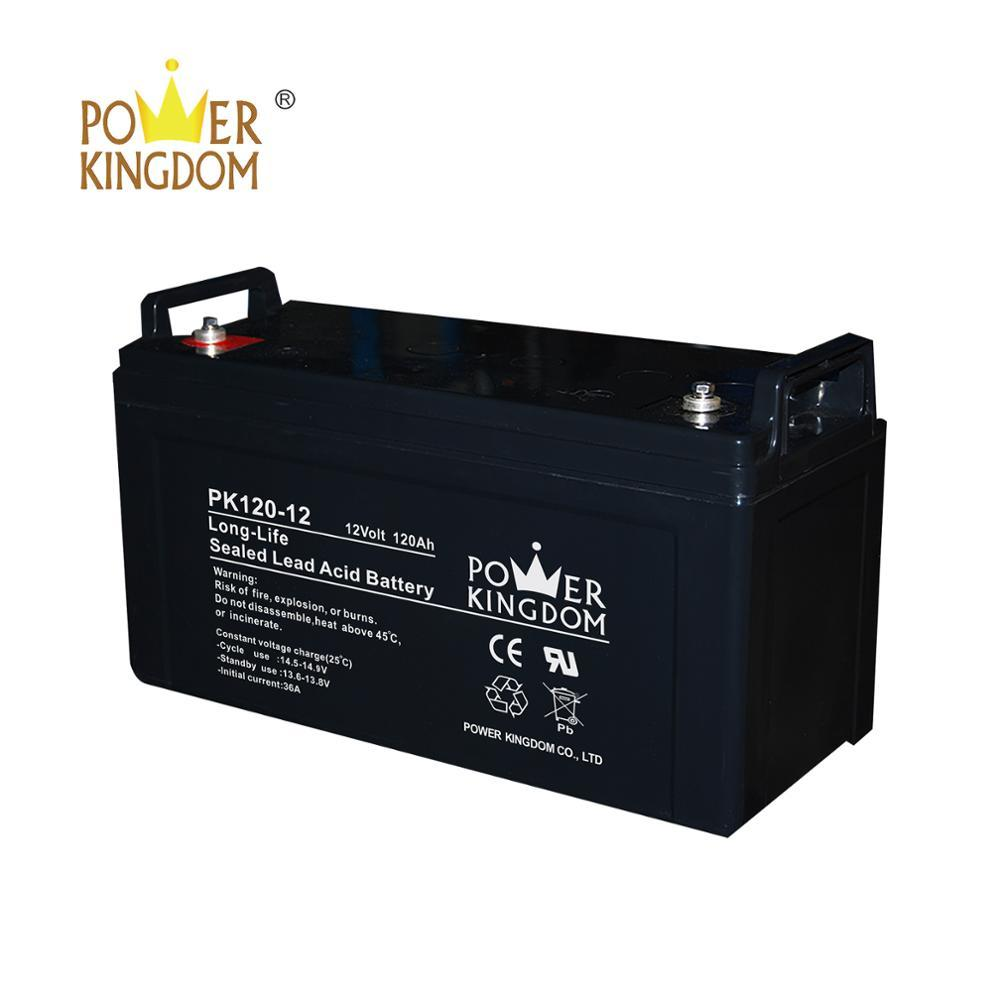 ups system maintenance free battery 12v 120ah big battery
