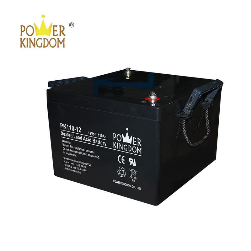 6v 100ah 110ah 12v AGM battery 10hr ups emergency power package battery pack