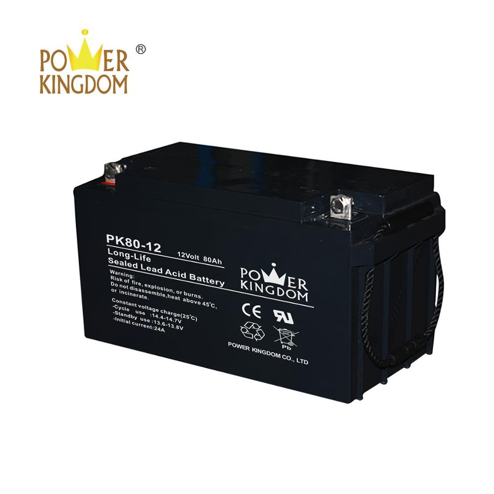 New products 2019 long life lead aicd battery 12v 100ah upsbattery