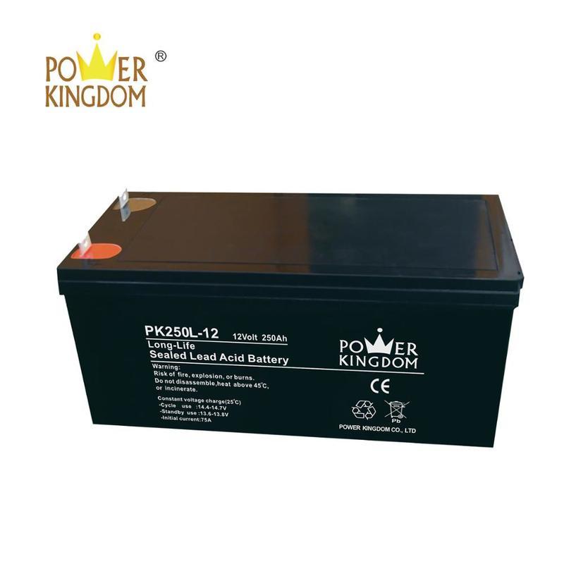 Military Quality Solar Battery 12v 200ah 250ah lead acid battery with long life