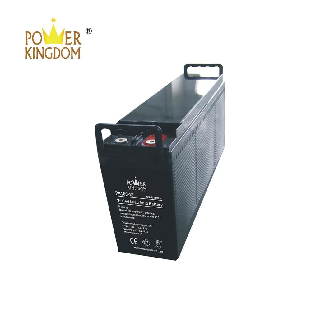 Valve regulated lead acid battery 12v 180ah with 3 years warranty