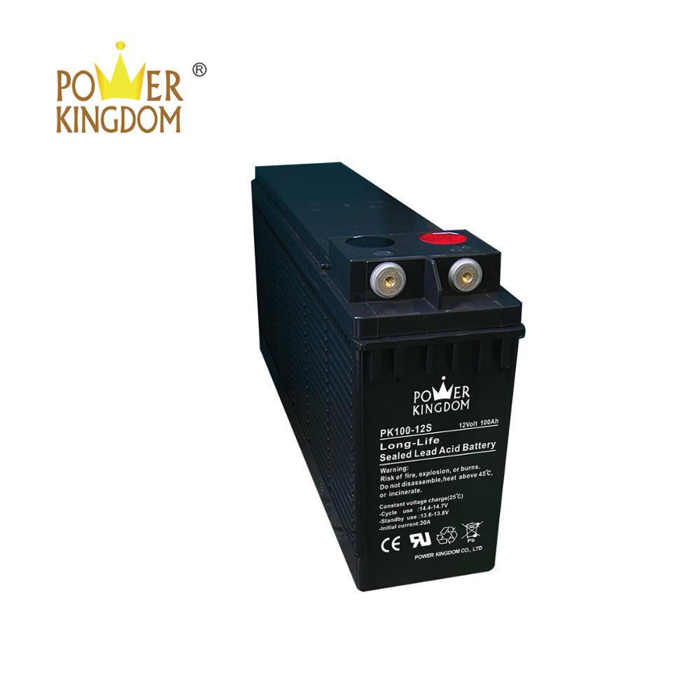 Factory price 12V100ah inverter Battery with stock