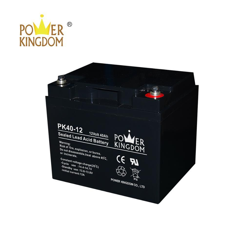 12v 40ah lead acid batteries for sale