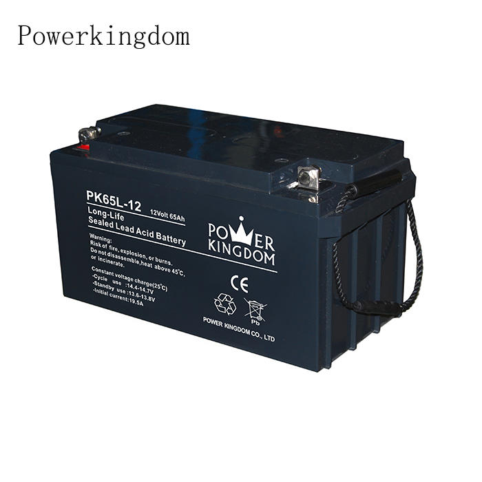 Hot Sell battery 65ah 80ah 100ah 200ah Lead-aicd rechargeable battery for railway