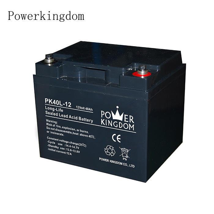 High Quality lead acid battery electric battery 12V 40Ah