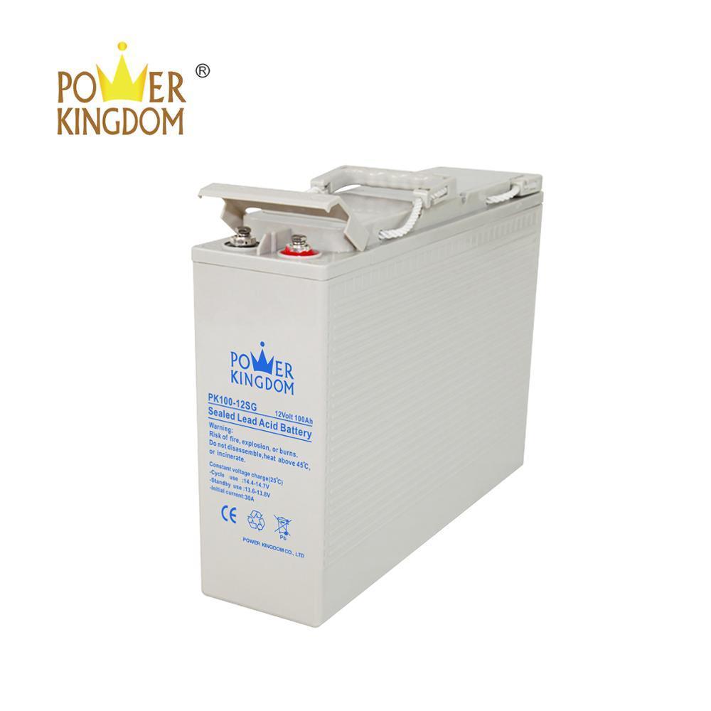 Front Terminal Lead acid sealed agm gel 12v solar battery 100ah 150ah 200ah 250ah Telecom battery