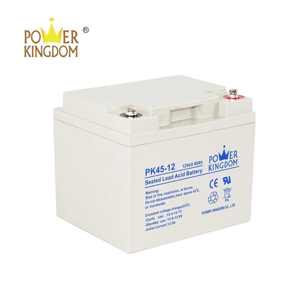 12v battery 20hr 45ah Powerkingdom vrla ups batteries